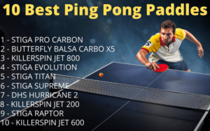 Top 10 Best Ping Pong Paddle 2021 Certified Paddles Ittf Approved